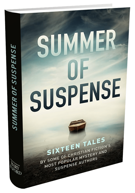 Summer of Suspense anthology book cover, by author Mary Alford