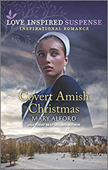 Covert Amish Christmas book cover, author Mary Alford